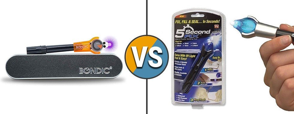 5 Second Fix vs Bondic