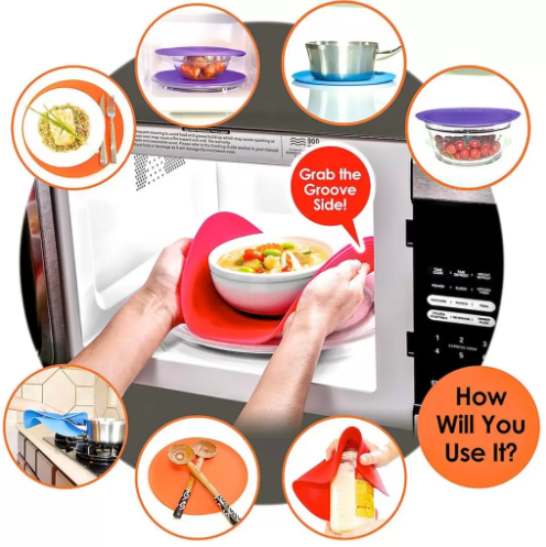 How to Use Safe Grabs Microwave Mat