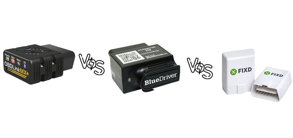 OBDLink MX+ vs BlueDriver vs Fixd
