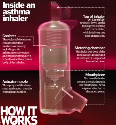 How Inhalers Works With Asthma